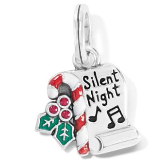 Brighton Silent Night Scroll Charm
