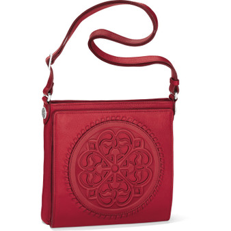 Brighton Ferrara Cross Body Organizer in Lipstick