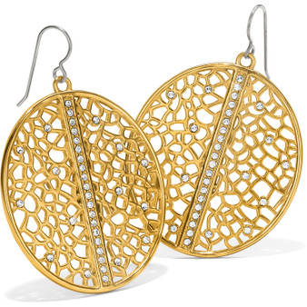Brighton Fiji Sparkle French Wire Earrings in Gold