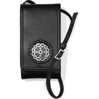 Brighton Ferrara Phone Organizer in Black