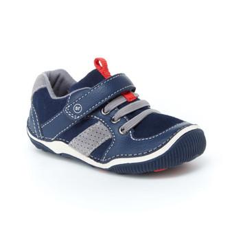 Stride Rite Toddler's SRT Wes Sneaker in Navy