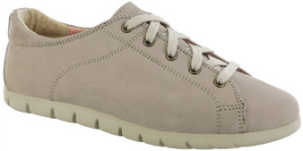 SAS Women's Solstice II Lace Up Flat in Desert Taupe