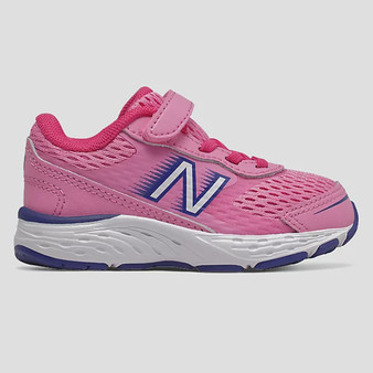 New Balance Toddler's 680v6 in Pink