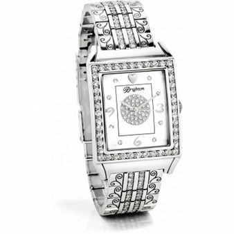 Brighton Diamond Bar Watch
