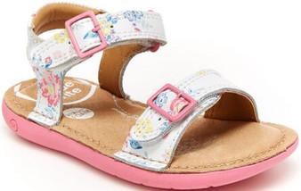 Stride Rite Infant/Toddler's SRTech Kingsley Sandal in White Foral