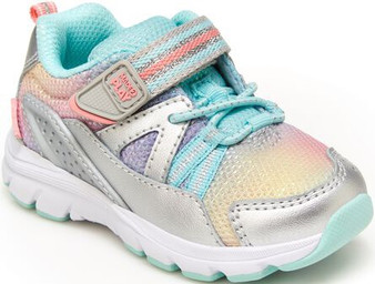 Stride Rite Toddler's Made2play® Journey Sneaker in Silver/Multi
