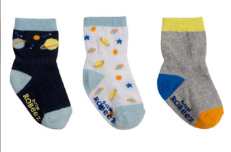 Robeez Boy's Cosmos Socks in Multi