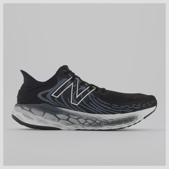 New Balance Men's Fresh Foam 1080v11 in Black with Thunder