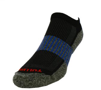 Remo Tulliani Men's Sauk Athletic Socks in Black/Royal