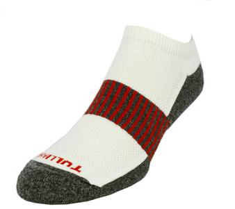 Remo Tulliani Men's Sauk Athletic Socks in White/Red