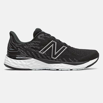 New Balance Men's Fresh Foam 880v11 in Black with Cyclone