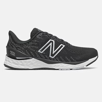 New Balance Big Kids 880v11 in Black with White