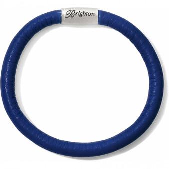 Brighton Woodstock Single Bracelet in Navy