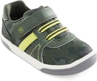Stride Rite Children's Thompson Sneaker in Green Camo