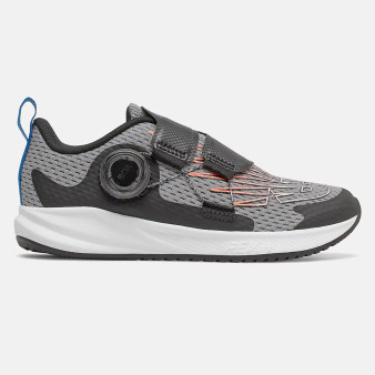New Balance Children's Fuel Core Reveal Boa in Marblehead with Dynamite