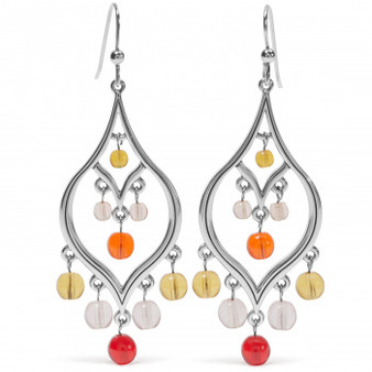 Brighton Prism Lights Fire French Wire Earrings