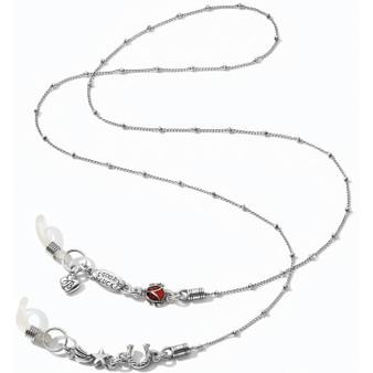 Brighton Lucky Clover Heart Lucky Charms Sunglass Chain Holder