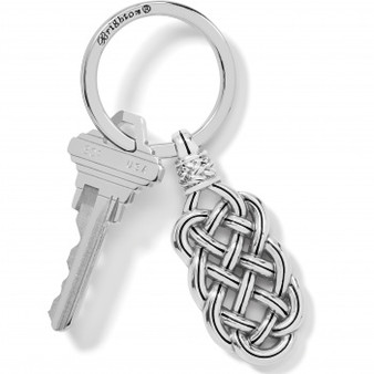 Brighton Interlok Woven Key Fob