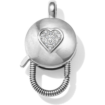Brighton Diamonds N' Hearts Reversible Charm Connector