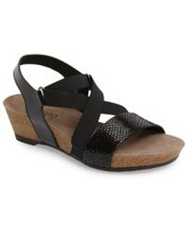 Munro Women's Lido in Black Snake Print