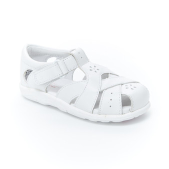 Stride Rite Toddler's SRTech Tulip Sandal in White