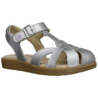 Stride Rite Children's SR Summer Time Sandal in Silver