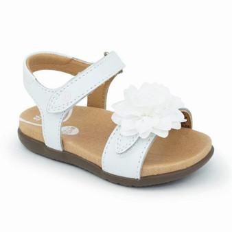 Stride Rite Toddler's SRTech Truly Sandal in White