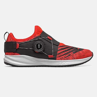 New Balance Big Children's Fuel Core Reveal Boa in Neo Flame with Team Red & Black