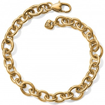 Brighton Luxe Link Charm Bracelet in Gold
