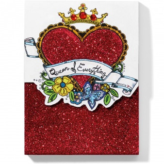 Brighton Fashionista Queen Of Everything Notepad