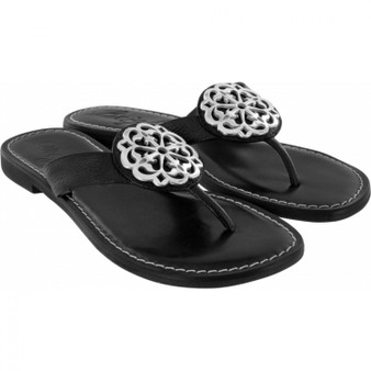 Brighton Women's Ferrara Alice Sandals in Black
