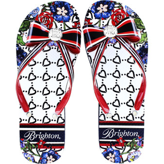 Brighton Women's Fashionista Entice Flip Flops in Multi