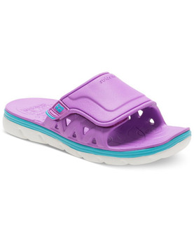 Stride Rite Children's Made2Play Phibian Slide Sandal in Purple