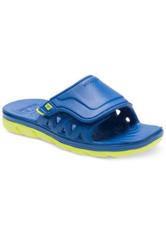 Stride Rite Children's Made2Play Phibian Slide Sandal in Blue