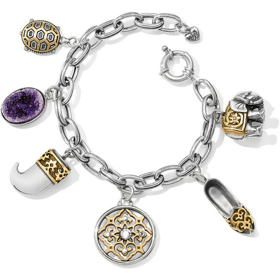Brighton Indian Souvenir Charm Bracelet