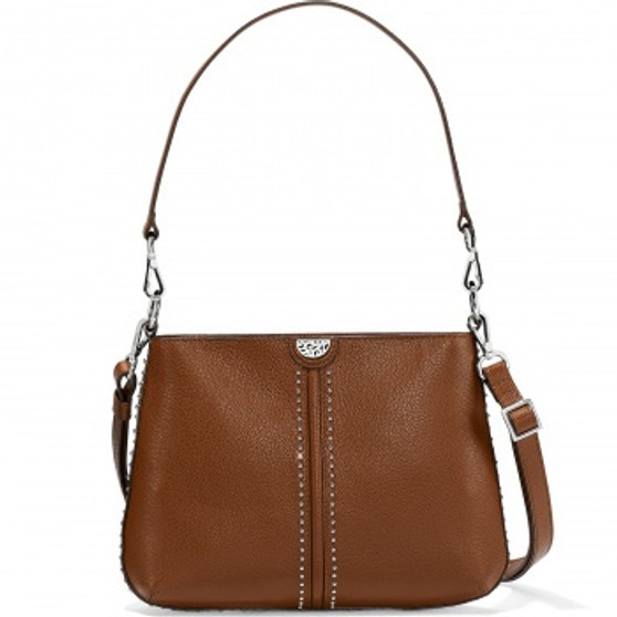 Brighton Pretty Tough Jett Convertible Cross Body in Bourbon