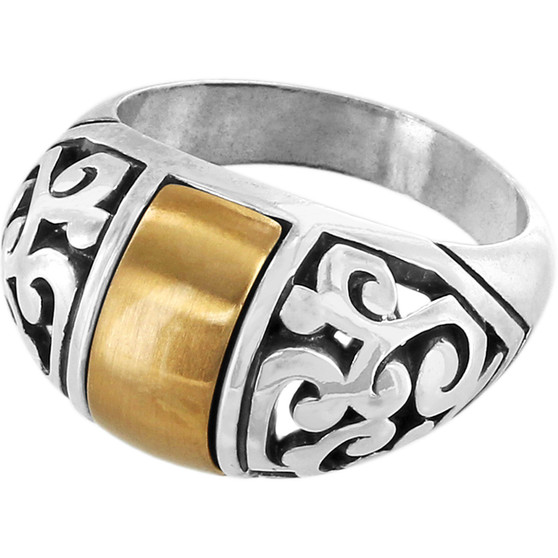 Brighton Catania Ring in Silver-Gold