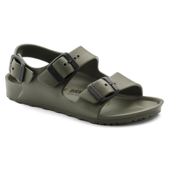 Birkenstock Children's Milano Essential Kids in Khaki