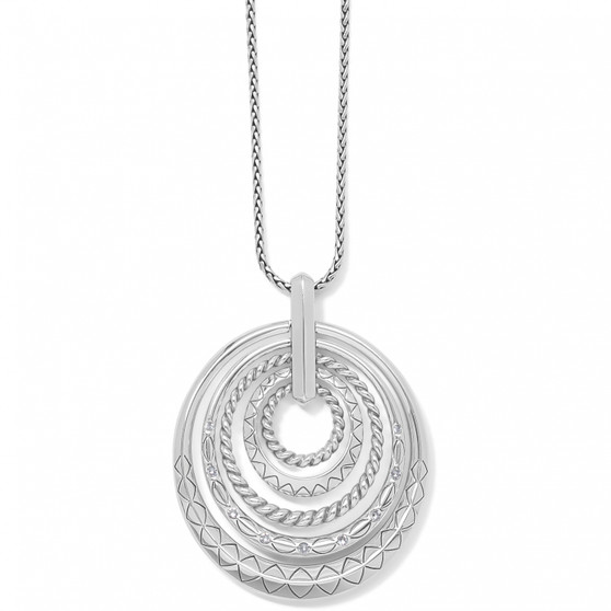 Brighton Tropic Heart Rings Necklace