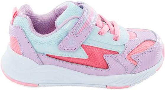 Stride Rite Toddler's Light-Up Cosmic Sneaker in Pink Multi