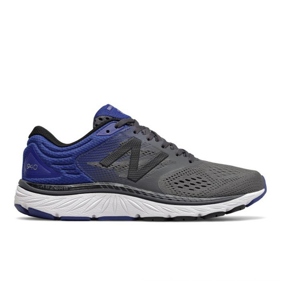 New Balance Men's 940v4 in Magnet with Marine Blue