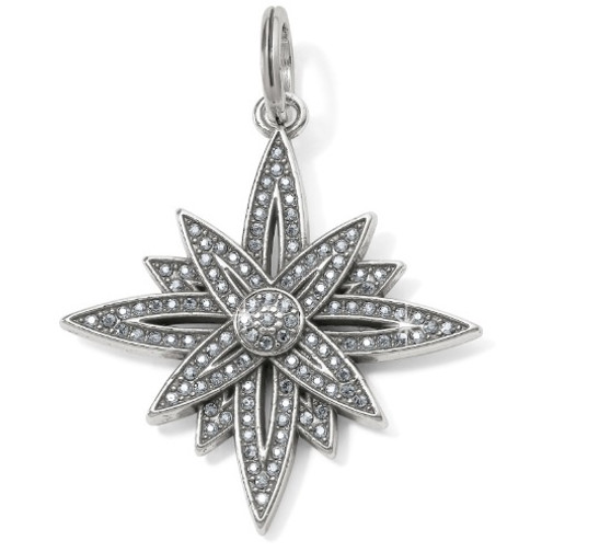 Brighton Brilliant Star Amulet in Silver