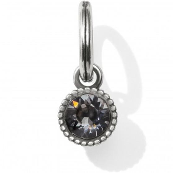 Brighton Glitz Highlight Amulet Silver/Black