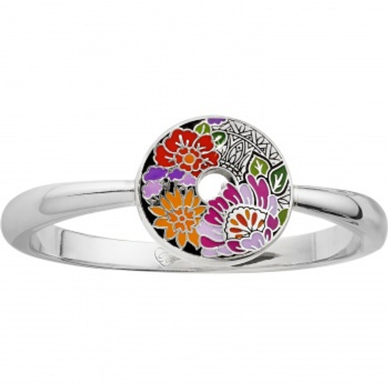 Brighton Africa Stories Floral Hinged Bangle