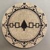 "9"" Hiawatha Belt Hot Plate/Trivet"