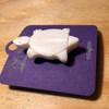 Carved Bone Turtle Pin