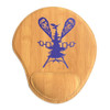 Lacrosse Bamboo Leatherette Mouse Pad