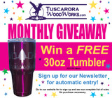 Tuscarora WoodWorks Gives Away a Product a Month in 2017
