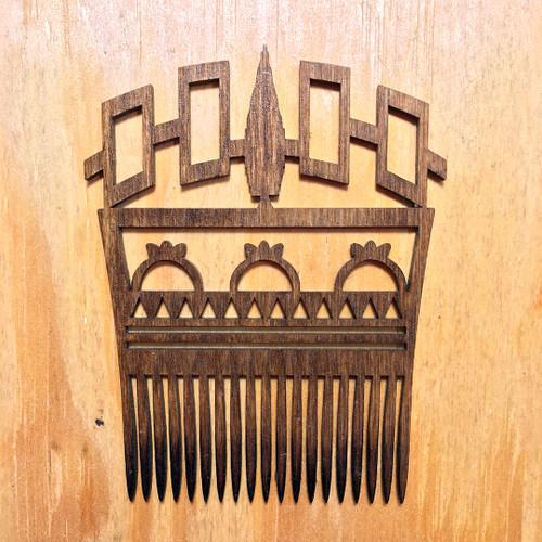 Hiawatha Belt Hair Comb