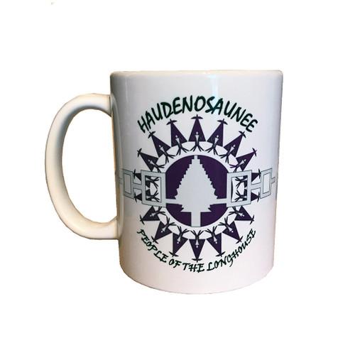11 oz.  Haudenosaunee Mug